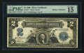 Large Size:Silver Certificates, Fr. 257* $2 1899 Silver Certificate PMG Choice Fine 15.. ...
