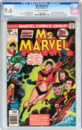 Bronze Age (1970-1979):Superhero, Ms. Marvel #1 (Marvel, 1977) CGC NM+ 9.6 Off-white to white pages....