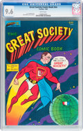 Silver Age (1956-1969):Alternative/Underground, The Great Society Comic Book #nn (Parallax Comic Books, 1966) CGCNM+ 9.6 White pages....