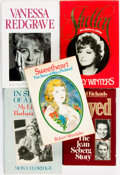 Books:Biography & Memoir, [Hollywood, Motion Pictures]. Group of Five Biographies andMemoirs. Various publishers and dates. . ... (Total: 5 Items)