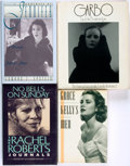 Books:Biography & Memoir, [Hollywood]. Group of Four Biographies and Memoirs. Variouspublishers and dates. . ... (Total: 4 Items)