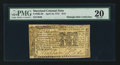 Colonial Notes:Maryland, Maryland April 10, 1774 $1/9 PMG Very Fine 20.. ...