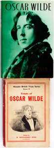 Books:Biography & Memoir, [Oscar Wilde]. Pair of Books on Wilde. Various publishers, 1948 -1987. . ... (Total: 2 Items)