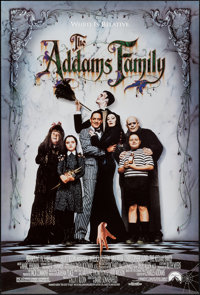"The Addams Family & Other Lot (Paramount, 1991). One Sheets (2) (26.75 X 39.75"" & 27"" X 40""). Com..."