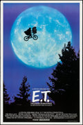 "Movie Posters:Science Fiction, E.T. The Extra-Terrestrial (Universal, 1982). One Sheet (26.5"" X40.25"") Bicycle Style. Science Fiction.. ..."