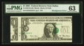 Error Notes:Major Errors, Fr. 1927-K $1 2001 Federal Reserve Note. PMG Choice Uncirculated63.. ...