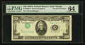Error Notes:Inverted Third Printings, Fr. 2060-G $20 1950A Federal Reserve Note. PMG Choice Uncirculated64.. ...