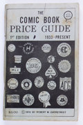 Memorabilia:Comic-Related, Overstreet Price Guide #1 Second Printing (Robert M. Overstreet, 1970) Condition: GD....