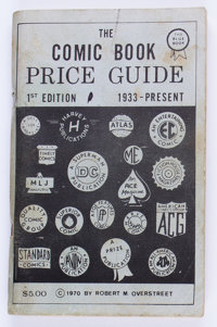 Overstreet Price Guide #1 Second Printing (Robert M. Overstreet, 1970) Condition: GD