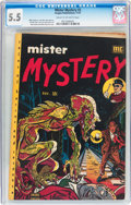 Golden Age (1938-1955):Horror, Mister Mystery #2 (Aragon, 1951) CGC FN- 5.5 Cream to off-whitepages....