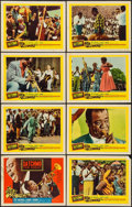 "Movie Posters:Musical, Satchmo the Great (United Artists, 1957). Lobby Card Set of 8 (11"" X 14""). Musical.. ... (Total: 8 Items)"