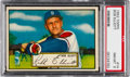 Baseball Cards:Singles (1950-1959), 1952 Topps Bob Elliott (Red Back) #14 PSA NM-MT 8....