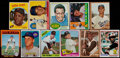 Baseball Cards:Lots, 1955-76 Topps Baseball and Football Stars & HoFers Collection (11)....
