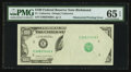 Error Notes:Obstruction Errors, Fr. ?-E $100 Federal Reserve Note. PMG Gem Uncirculated 65 EPQ.. ...