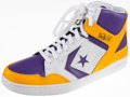 Basketball Collectibles:Others, Magic Johnson Signed Converse Shoe....