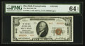 National Bank Notes:Pennsylvania, Blue Ball, PA - $10 1929 Ty. 2 The Blue Ball NB Ch. # 8421. ...