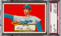 Baseball Cards:Singles (1950-1959), 1952 Topps Billy Loes (Red Back) #20 PSA NM-MT 8 - Only OneHigher....