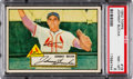 Baseball Cards:Singles (1950-1959), 1952 Topps Johnny Bucha (Red Back) #19 PSA NM-MT 8 - Only OneHigher....