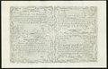 Colonial Notes:New Hampshire, New Hampshire Cohen Reprint April 3, 1755 Redated June 1, 175610s-15s-30s-£3 Uncut Sheet Very Fine.. ...
