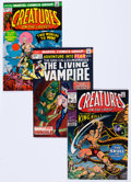 Bronze Age (1970-1979):Horror, Creatures on the Loose/Fear Group of 40 (Marvel, 1971-75)Condition: Average FN/VF.... (Total: 40 Comic Books)