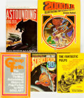 Books:Books about Books, [Books about Books, Pulps, Reference]. Group of Five Books on Science Fiction Pulps. Various publishers and dates. . ... (Total: 5 Items)