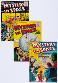 Silver Age (1956-1969):Science Fiction, Mystery in Space Group of 11 (DC, 1955-62) Condition: AverageFN.... (Total: 11 Comic Books)