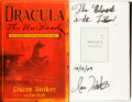 Books:Horror & Supernatural, Ian Holt. INSCRIBED. Dacre Stoker. Dracula the Un-Dead.Dutton, [2009]....
