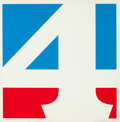 Post-War & Contemporary:Pop, Robert Indiana (American, b. 1928). The American Four, 1970.Screenprint in colors on paper. 23-3/4 x 23-3/4 inches (60....