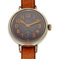 Timepieces:Wristwatch, Vintage Military Omega Sterling Silver Wristwatch. ...