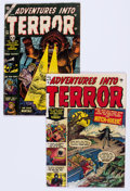 Golden Age (1938-1955):Horror, Adventures Into Terror #5 and 20 Group (Atlas, 1951-53).... (Total:2 Comic Books)