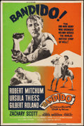 "Movie Posters:Action, Bandido & Other Lot (United Artists, 1956). Silk Screen Poster & Poster (40"" X 60""). Action.. ... (Total: 2 Items)"