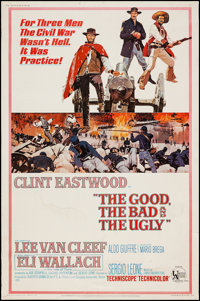 """The Good, the Bad and the Ugly (United Artists, 1968). Poster (40"""" X 60""""). Western"""