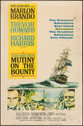 "Movie Posters:Adventure, Mutiny on the Bounty (MGM, 1962). Poster (40"" X 60"") Style Y.Adventure.. ..."