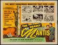 "Movie Posters:Science Fiction, The Deadly Mantis (Universal International, 1957). Half Sheet (22""X 28""). Science Fiction.. ..."