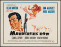 "Movie Posters:Action, Murderers' Row (Columbia, 1966). Half Sheet (22"" X 28""). Action....."