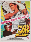 "Movie Posters:James Bond, Never Say Never Again (United Artists, 1983). Indian One Sheet (28.75"" X 39.5""). James Bond.. ..."