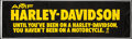 """Movie Posters:Miscellaneous, AMF Harley-Davidson Lot (Late 1960s-1970s). Outdoor Banner (35"""" X 119""""), Slogan Banners (3) (17"""" X 41""""), Transparent Model S... (Total: 18 Items)"""