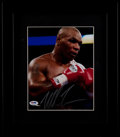 Boxing Collectibles:Autographs, Mike Tyson Signed Photograph....