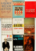 Books:Literature 1900-up, Vladimir Nobokov. Group of Nine Books. Various publishers anddates. . ... (Total: 9 Items)