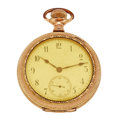 Timepieces:Pocket (pre 1900) , Hamilton Early Private Label 974, circa 1898. ...