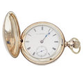 "Timepieces:Pocket (pre 1900) , Illinois ""The World"" Unusual Nickel Transitional 18 Size. ..."