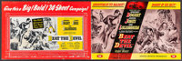 """Beat the Devil & Others Lot (United Artists, 1953). Uncut and Cut Pressbooks (21) (Multiple Pages, 10"""" X 13.25&..."""