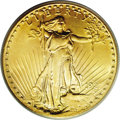 Saint-Gaudens Double Eagles: , 1927-S $20 AU55 PCGS. Given its mintage of more than 3 millionpieces, one would normally expect that the 1927-S would be r...