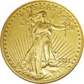 "Proof Saint-Gaudens Double Eagles: , 1911 $20 PR66 NGC. The year 1911 marked the abandonment of theexperimental ""Roman Gold"" method of proofing, and a return t..."