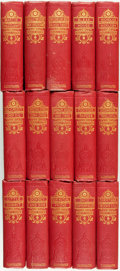 Books:Literature Pre-1900, [Charles Dickens]. The Works of Charles Dickens:The Author's Favorite Edition in Facsimile, V... (Total: 15Items)