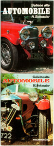 Books:Non-fiction, Halwart Schrader. Pair of Titles Related to Automobiles. Verlag Welsermuhl, [1976 and 1978].... (Total: 2 Items)