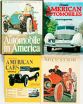 Books:Non-fiction, [Automobiles]. Group of Four Books. Various publishers and dates.... (Total: 4 Items)