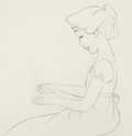 Animation Art:Production Drawing, Peter Pan Wendy Animation Drawing (Walt Disney, 1953)....