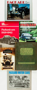 Books:Non-fiction, [Automobiles]. Group of Five Books Related to Packard Cars [together with:] The Master Painter's Partner, for ... (Total: 6 Items)
