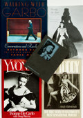 Books:Biography & Memoir, [Film & Cinema] [Biography]. Group of Five Books, Three ofWhich are INSCRIBED. Various publishers and dates. ... (Total: 5Items)